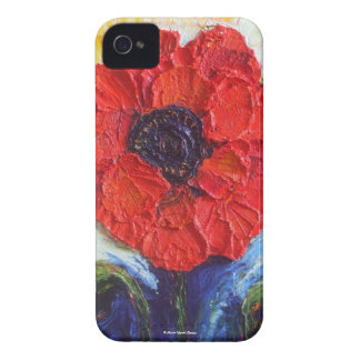 Paris' Red Poppy Blackberry Case