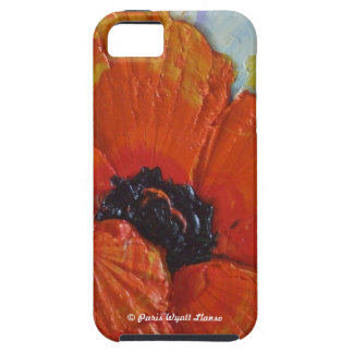 Paris' Red Poppy iPhone 5 Case