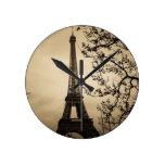París Relojes De Pared