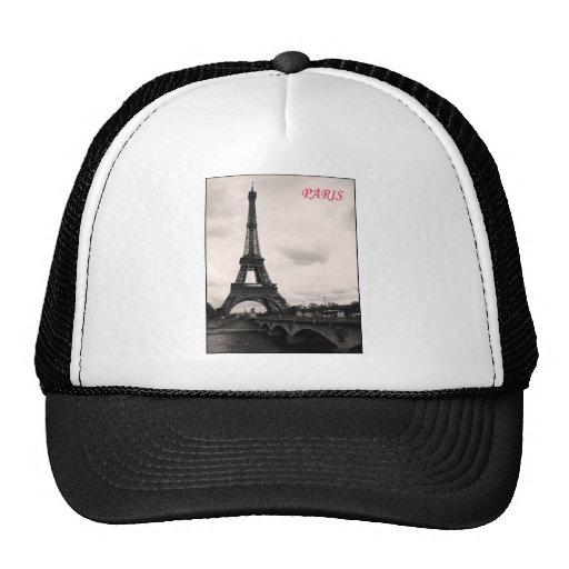paris retro trucker hats
