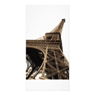 Paris retro picture card