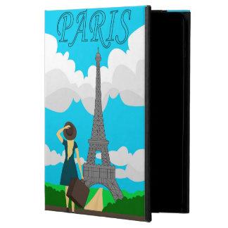Paris retro style design case for iPad air