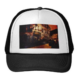 Paris romance at night trucker hat