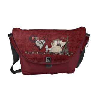 Paris Romance Messenger Bag