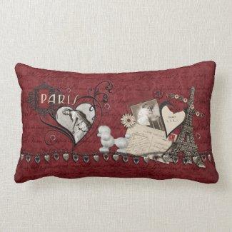 Paris Romance Pillows
