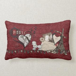Paris Romance Throw Pillow