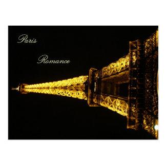 Paris Romance Postcard