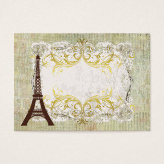 Paris Romantic Vintage Table Business Card