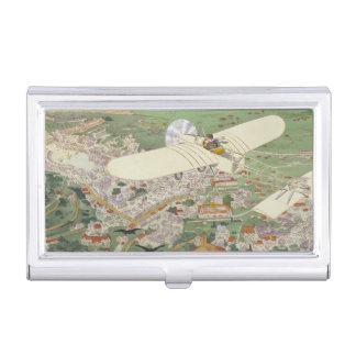 Paris-Rome Monoplane Beaumont Le Gagnant Bleriot Business Card Case