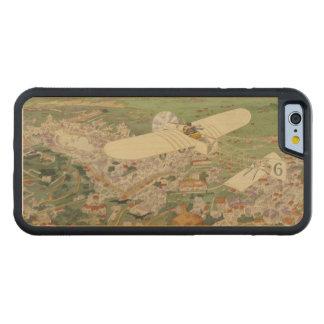Paris-Rome Monoplane Beaumont Le Gagnant Bleriot Carved® Maple iPhone 6 Bumper Case