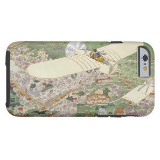 Paris-Rome Monoplane Beaumont Le Gagnant Bleriot Tough iPhone 6 Case