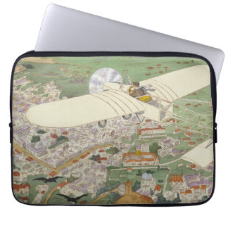 Paris-Rome Monoplane Beaumont Le Gagnant Bleriot Laptop Sleeve