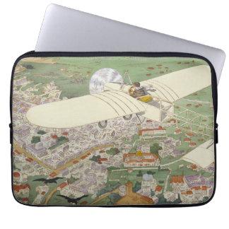 Paris-Rome Monoplane Beaumont Le Gagnant Bleriot Laptop Sleeves