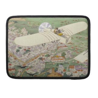 Paris-Rome Monoplane Beaumont Le Gagnant Bleriot Sleeves For MacBook Pro