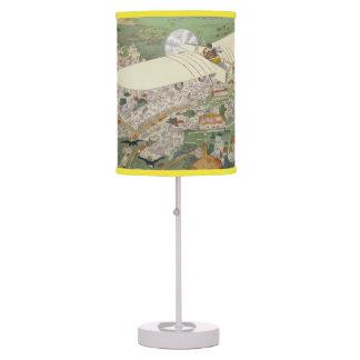 Paris-Rome Monoplane Beaumont Le Gagnant Bleriot Table Lamp