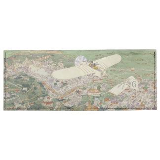 Paris-Rome Monoplane Beaumont Le Gagnant Bleriot Tyvek® Billfold Wallet