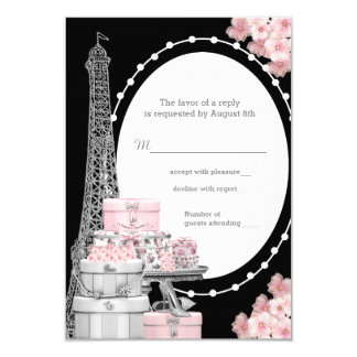 Paris RSVP Card
