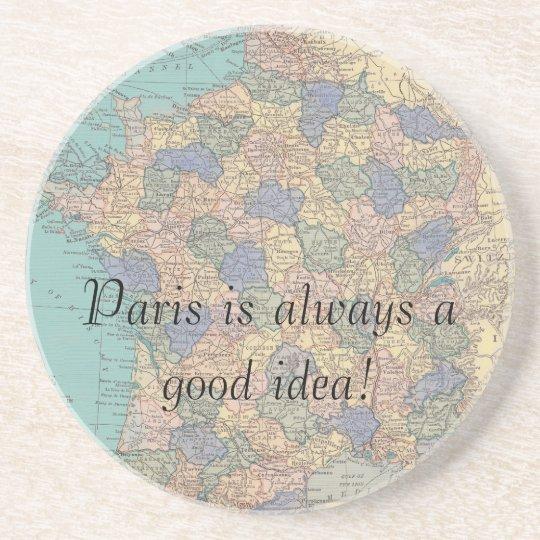 Paris Sandstone Coaster