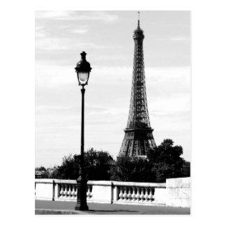 Paris Scene Postcard