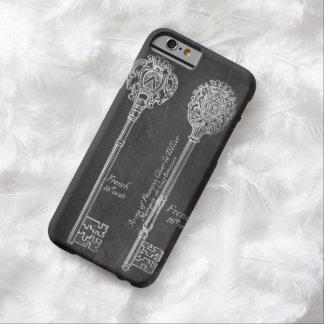 París scripts la pizarra elegante de las llaves funda de iPhone 6 barely there