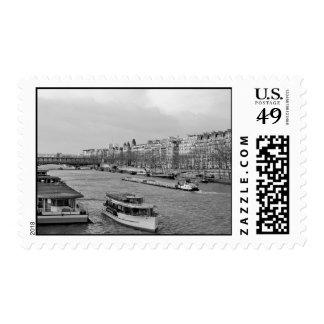 Paris Seine Postage