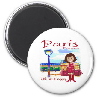 Paris Shopper Magnet