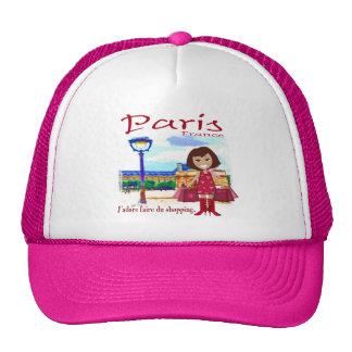 Paris Shopper Trucker Hat