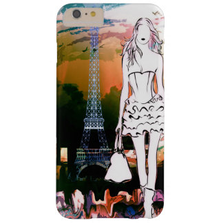 Paris Shopping Eiffel Tower Barely There iPhone 6 Plus Case