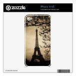 París Skin Para El iPhone 4S