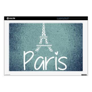 ¡París! Skins Para 43,2cm Portátil