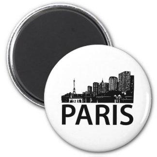 Paris Skyline Fridge Magnets