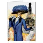 París soña la tarjeta de felicitación