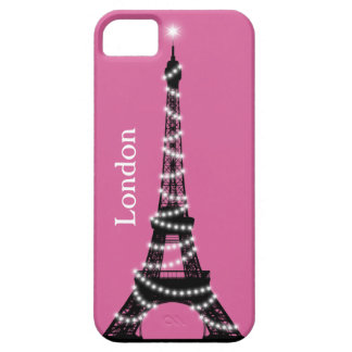 Paris Sparkles Everywhere iPhone 5 Barely There iPhone SE/5/5s Case
