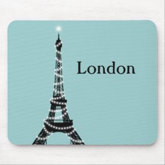 Paris Sparkles Everywhere Mouse Pad