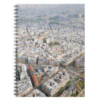 Paris Spiral Note Book
