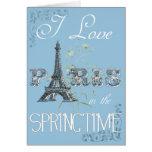 Paris Spring Love Card