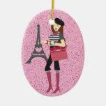 Paris - SRF Ceramic Ornament