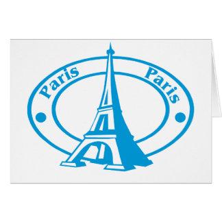 Paris Stamp Card