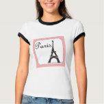 Paris Stamp Pink T-Shirt