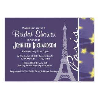 Paris Starry Night; Eiffel Tower Card