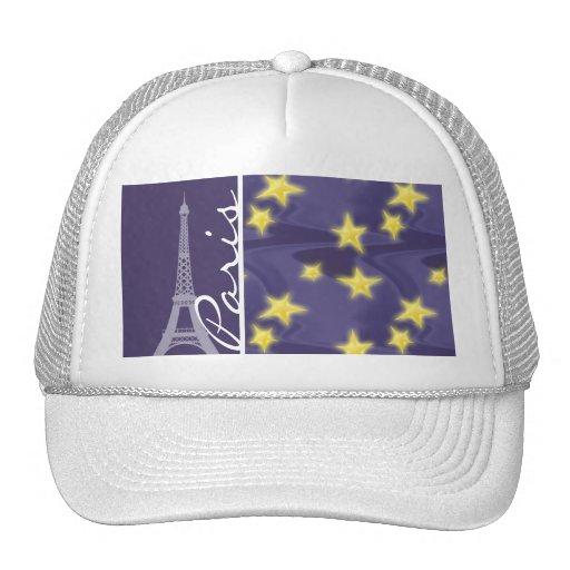 Paris Starry Night; Eiffel Tower Hat