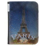 Paris Starry Night Kindle 3G Cover