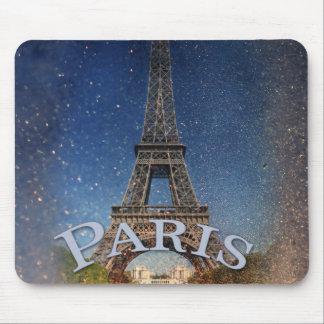 Paris Starry Night Mouse Pad