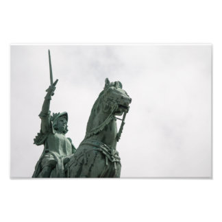 Paris Statuary Photo Print