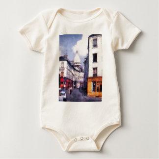Paris Street Baby Bodysuit
