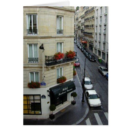 Paris Street Card
