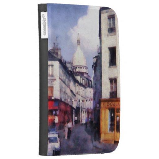 Paris Street Case For Kindle
