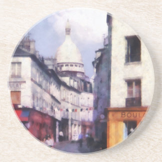 Paris Street Drink Coasters