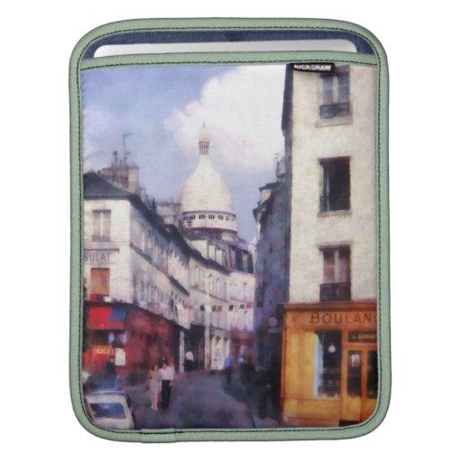 Paris Street iPad Sleeves