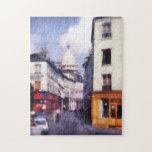 Paris Street Jigsaw Puzzle